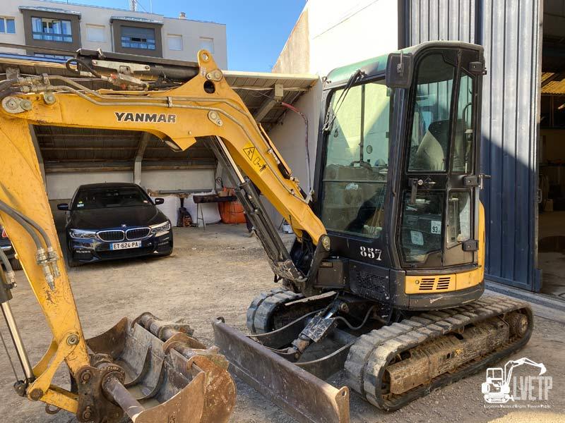 Pelle Yanmar Vio33 3,5 tonnes à vendre